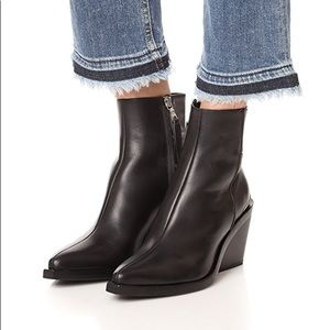 Rag & Bone Santiago ankle boot booties black 37 7